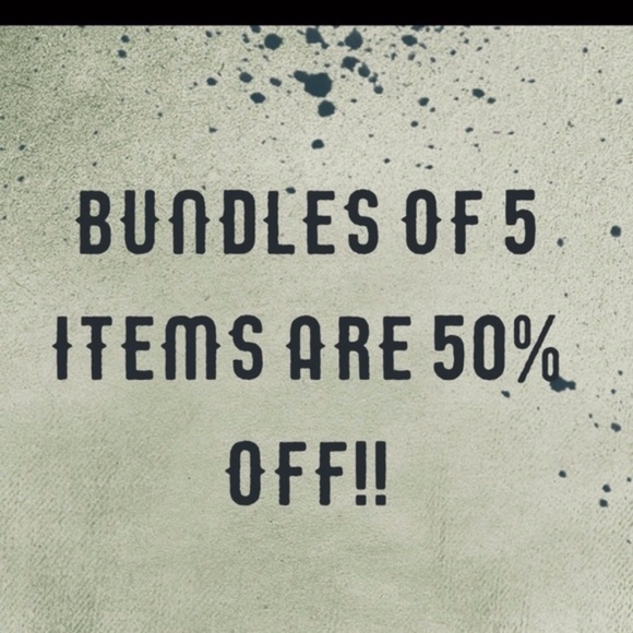 Other - Bundles of 5-10 items are Half Off!